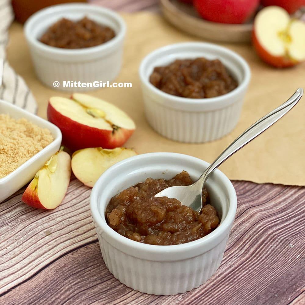 Apple Cider Apple Sauce