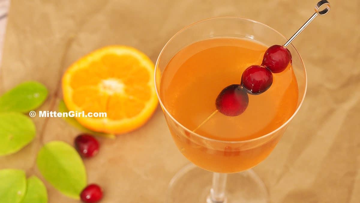 Orange Ginger Gin
