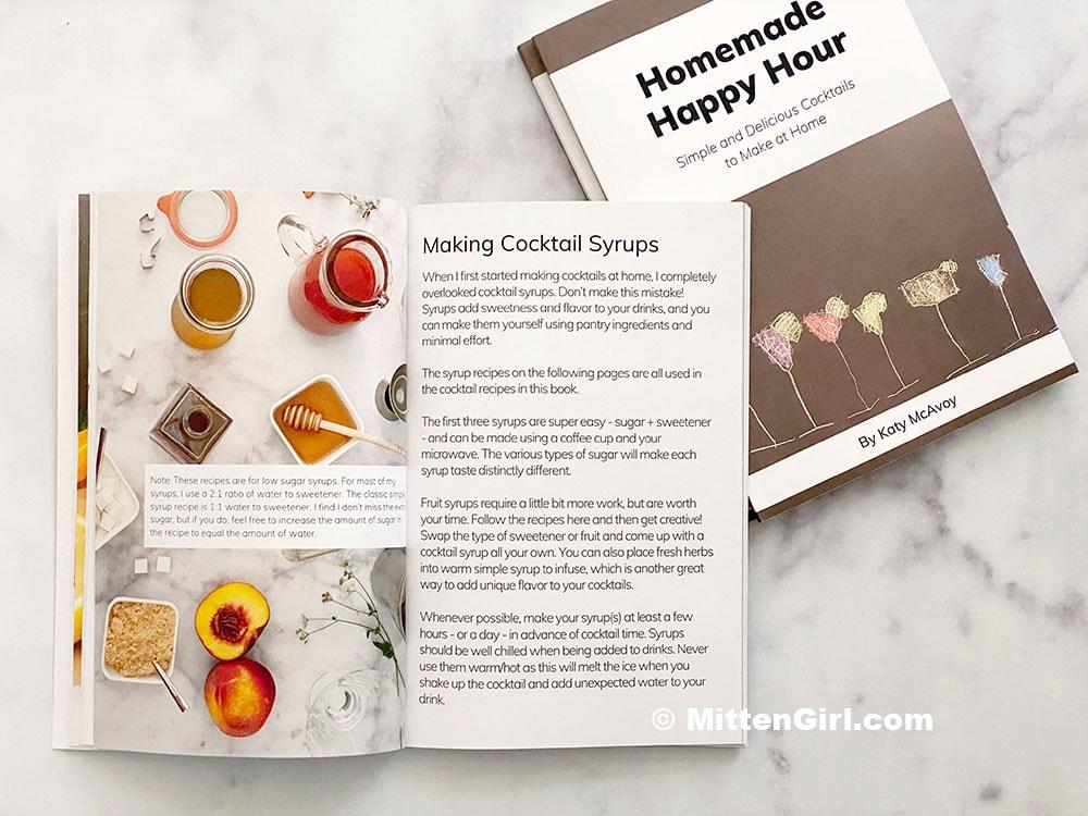 Homemade Happy Hour Book